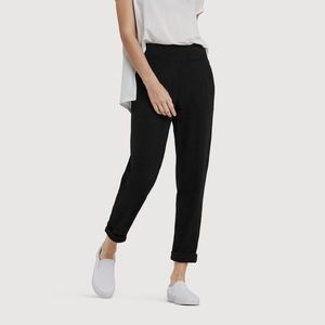 Kit & Ace Mulberry Black Ponte Crop Trousers